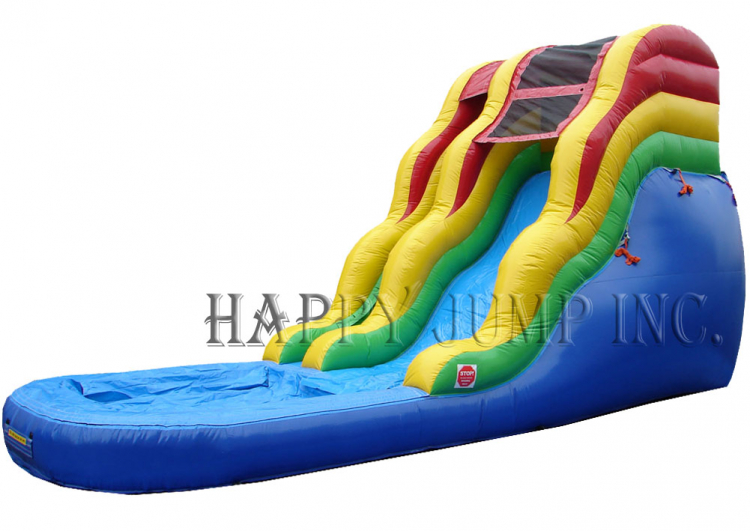 16' Happy Wavy Water Slide
